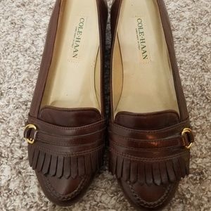Cole Haan Kiltie Fringe Loafers - Iconic & Classic